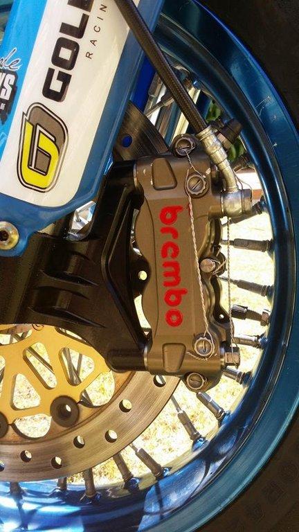Custom Full factory Specification Davide Gozzini 2010 TM 450 SMX