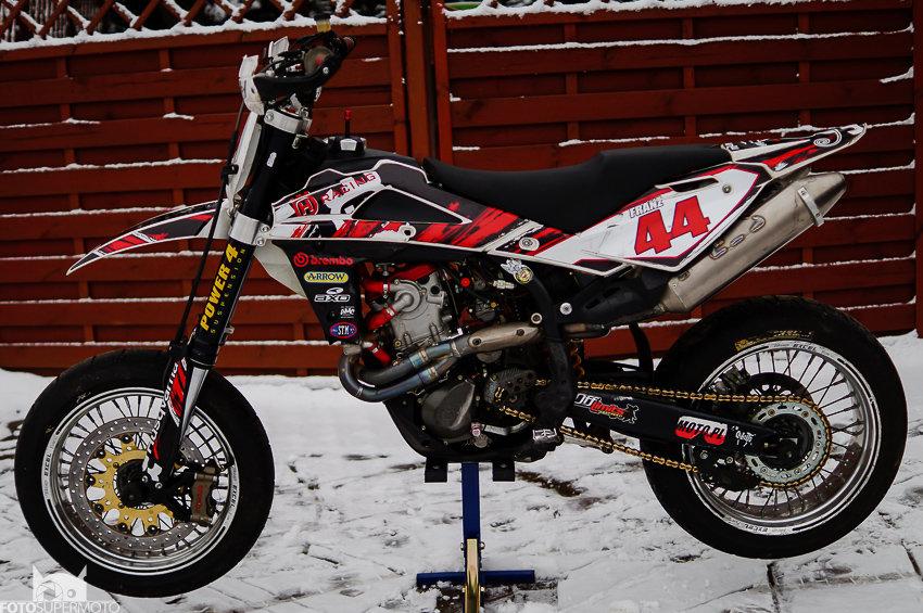 Husqvarna SM 530 RR 2009, complet Supermoto, ready to statr