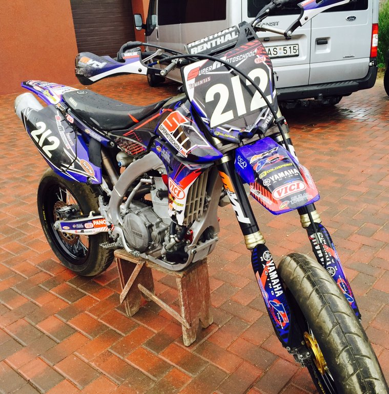 Full Size Van >> EESML - CLASSIFIEDS - YAMAHA YZ450F SUPERMOTO