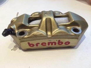Brembo Monoblock M4 caliper and 16x18 master